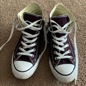 Deep Purple High Tops
